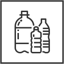 Contenitori per bottiglie per bevande in PET